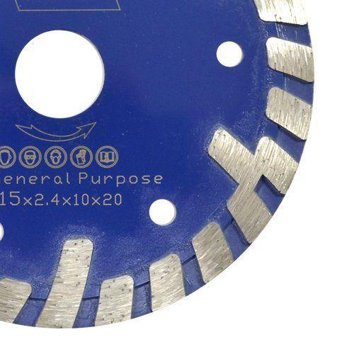 Disco de Serra Mármore Turbo A Premium 115mm – Colar  - COLAR