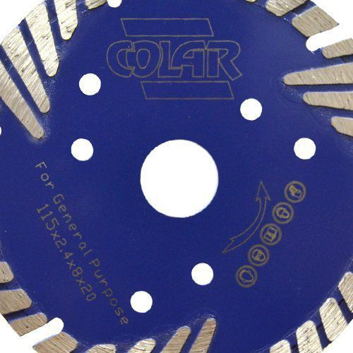 Disco de Serra Mármore  Turbo B Premium 115mm- Colar