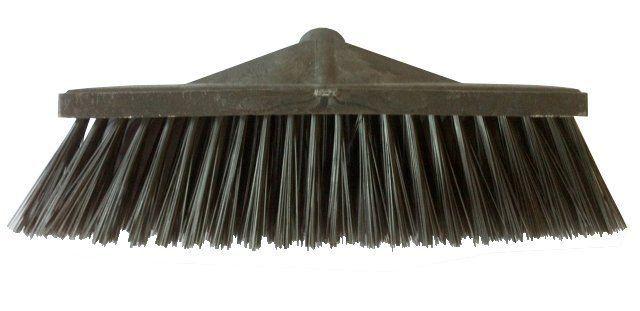 Vassoura Gary Nylon Base Plastica 40cm  com  cabo - 3M