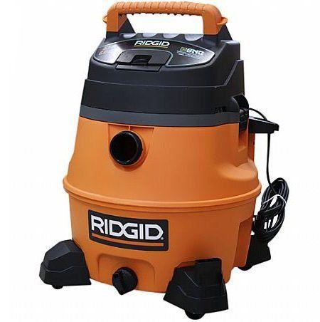 Aspirador de Pó, Líquido e Soprador Industrial 53 Litros - Ridgid  - COLAR