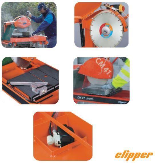 Máquina de Corte CM41 30 1 230V 60Hz Clipper - Norton  - COLAR