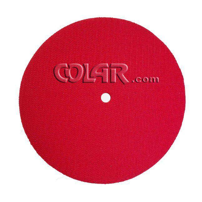 """Suporte De Lixa com Velcro e Espuma 7"""" M14 Vermelho - DM  - COLAR"""