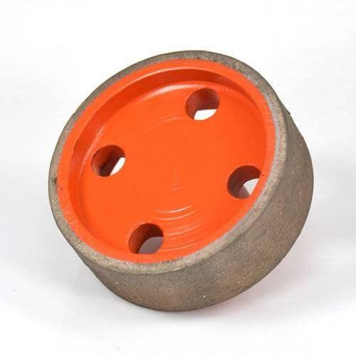 Rebolo Diamantato Chicote M14 70x23x3mm Continuo  - COLAR
