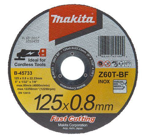 Disco de Corte B45733 25  125mm - Makita  - COLAR