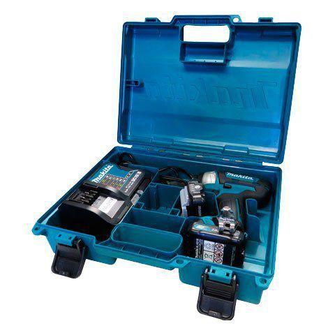 Parafusadeira de Impacto à Bateria TD110DSAE 12V com Encaixe de Makita BIVOLT  - COLAR