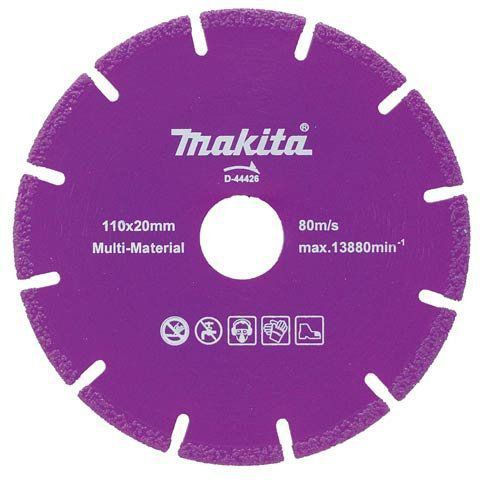 Disco de Corte Segmentado D44426 - Makita  - COLAR