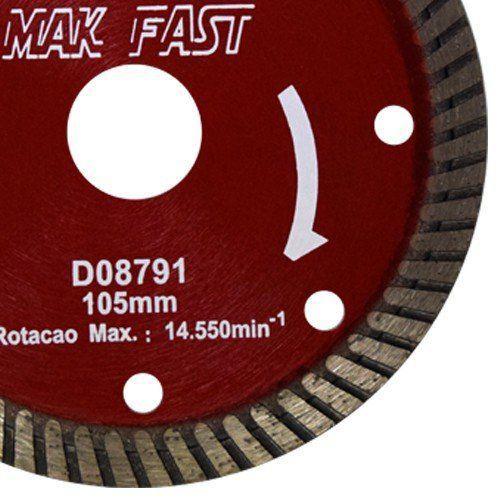 Disco de Corte Turbo Mak Fast D08791 - Makita  - COLAR