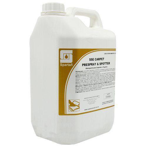 Removedor de Manchas p/ Carpetes, Tapetes e Estofados Sse Carpet Prespray & Spotter 5 Litros - Spartan