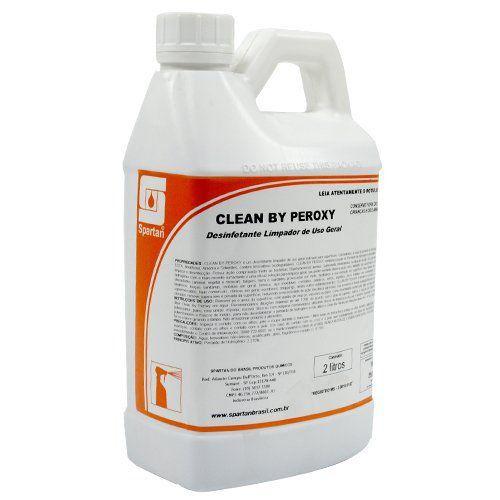 Desinfetante Limpador Clean By Peroxy 2 Litros - Spartan  - COLAR