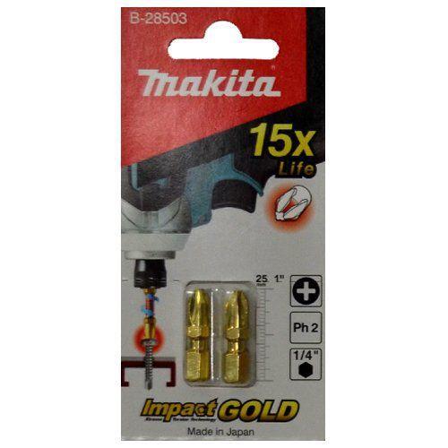 Bit de Torção 2pçs PH2 25mm B28503 - Makita