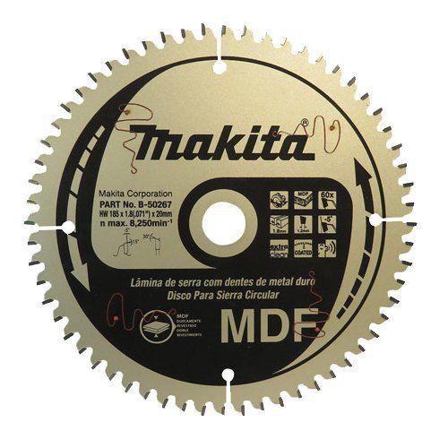 Disco de Serra MDF TCT B50267 - Makita  - COLAR