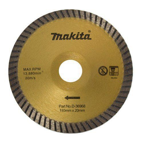 Disco de Corte Diamantado Côncavo para Marmore D-36968 -Makita  - COLAR