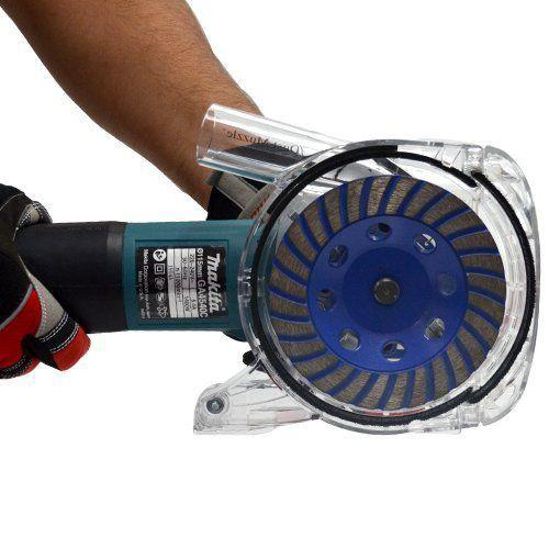 Coletor de Pó Adaptado para Cantos e Paredes para Todos os Tipos de Lixadeiras até 150 mm - Colar  - COLAR