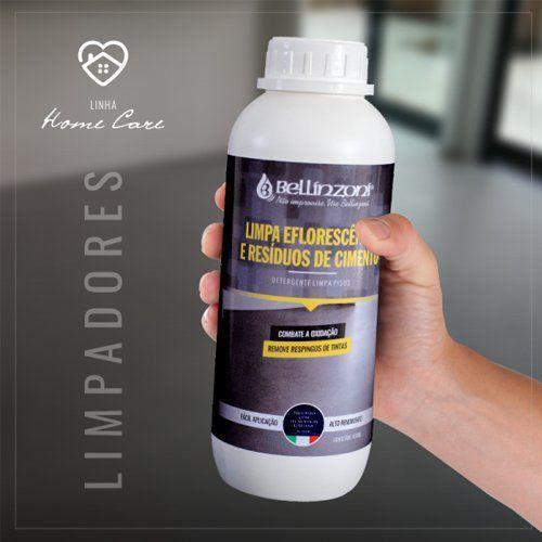 Detergente Limpa Eflorescência e Resíduos de Cimento 1 Litro - Bellinzoni ♥ Home Care  - COLAR