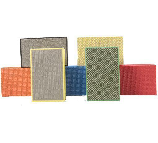 Placas Abrasivas 90 x 55 mm - Para polimento de mármores e granitos