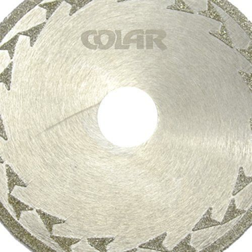 Disco de Corte Diamantado Eletrolítico 110 mm - Colar  - COLAR