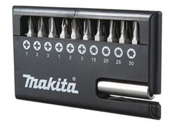 Kit Bits com 11 pçs D30651 12 - Makita  - COLAR