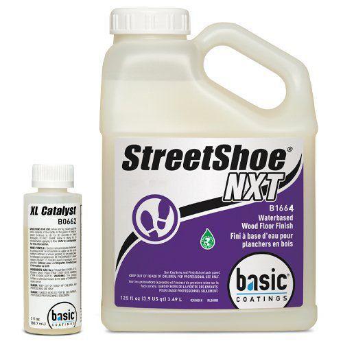 StreetShoe - Verniz Bí-Componente 100 % Poliuretano à base d'agua - 3.69 Lts  - COLAR