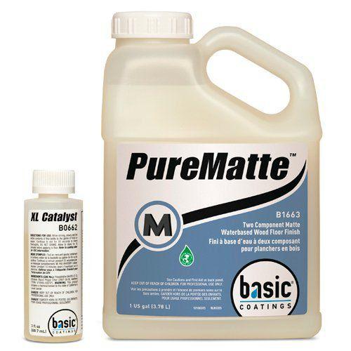 PureMatte -  Verniz Bicomponente 100% PU à Base de Água + Catalisador  - COLAR