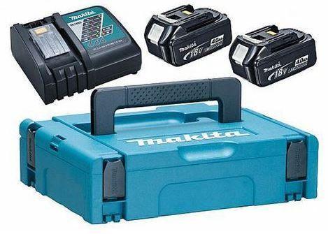 Combo com 2 Baterias BL1830B+DC18RC - BIVOLT 198046 9 - Makita  - COLAR