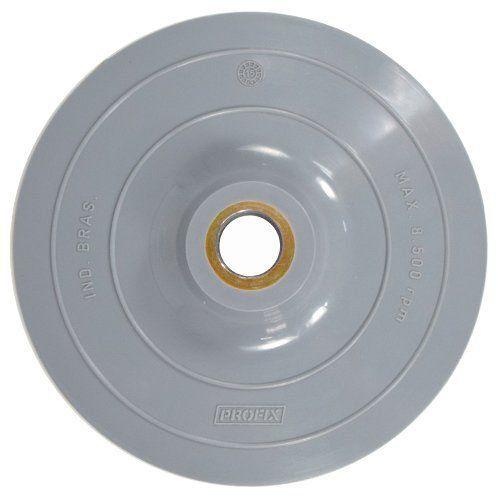 Suporte de Lixa Rígido 7 Polegadas (180mm) Furo 22mm Profix