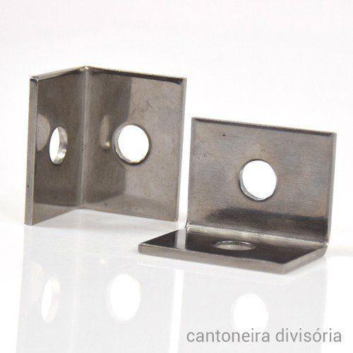 Fixação de Divisórias de Pedra com 3cm - Pequena  - COLAR