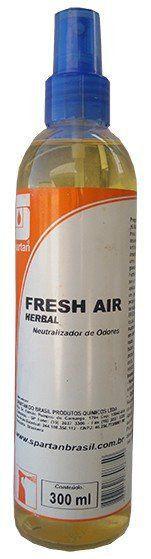 Neutralizador de Odores Fresh Air Herbal 300ml - Spartan  - COLAR