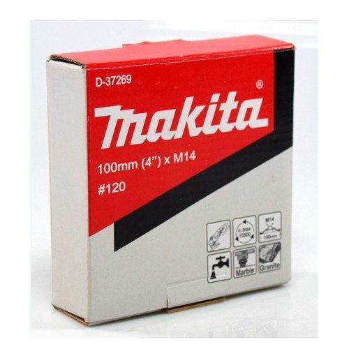 Rebolo Makita M14 Diamantado Liso 100mm   - COLAR