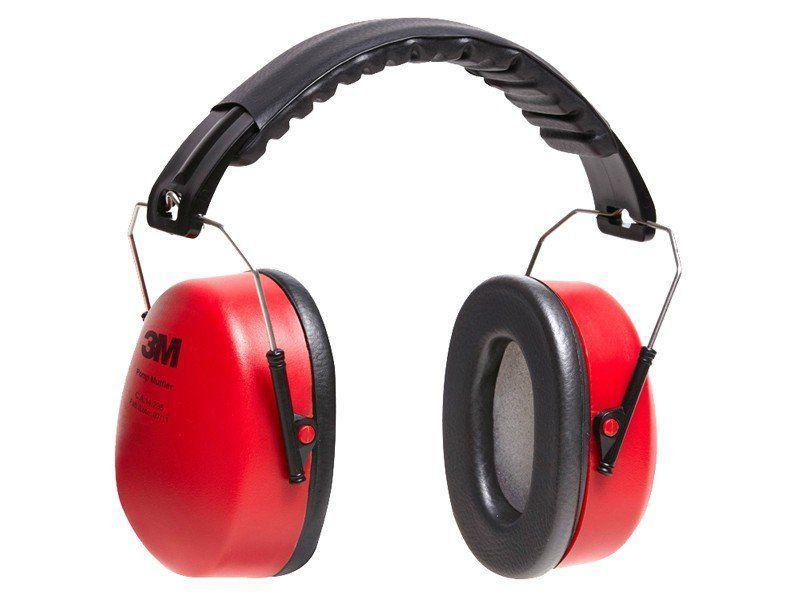 Abafador Protetor Auditivo 3M Pomp Muffler 0975/10  - COLAR