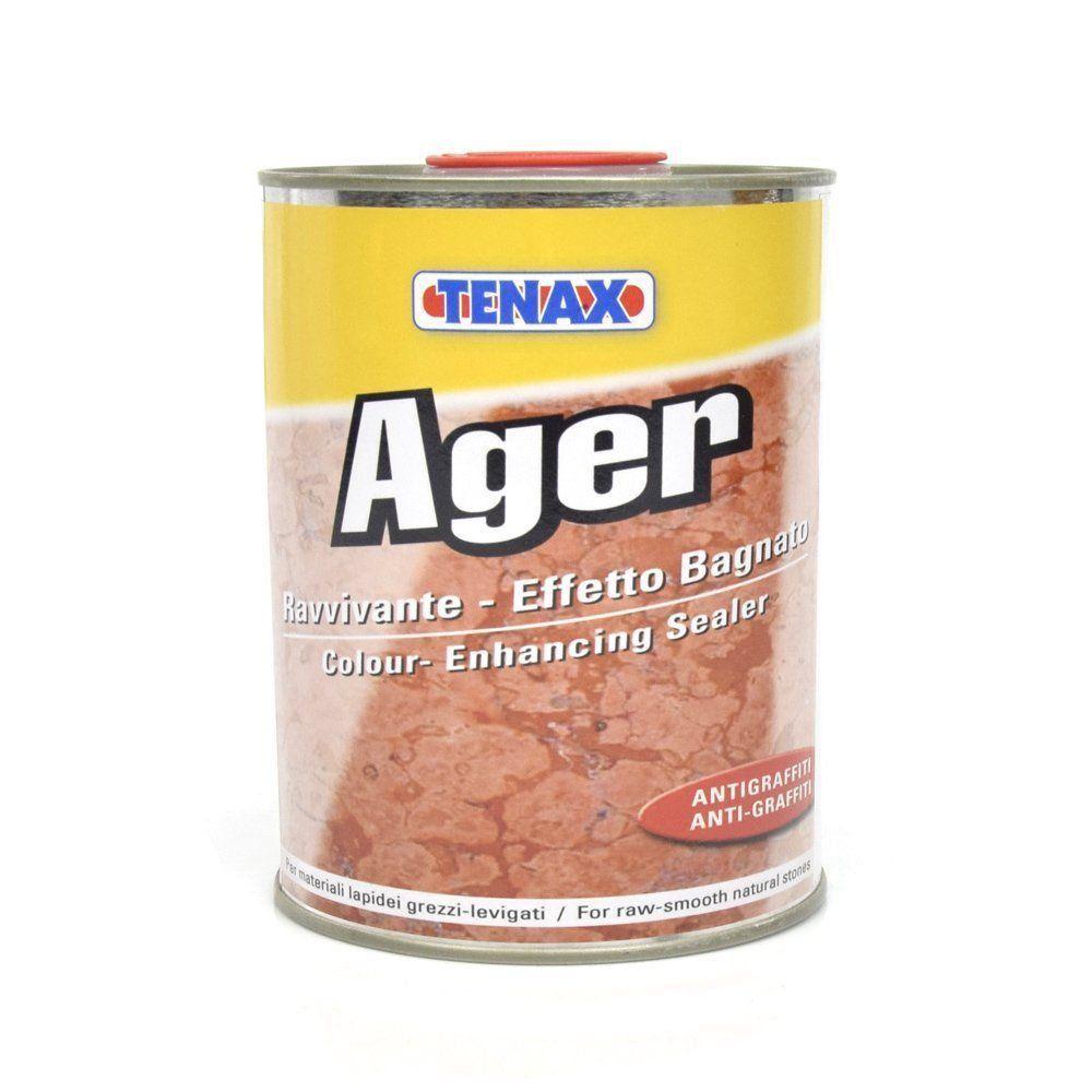 """Ager 1L Impermeabilizante e Ativador de Cor """"Anti-Grafitti"""" - Tenax  - COLAR"""