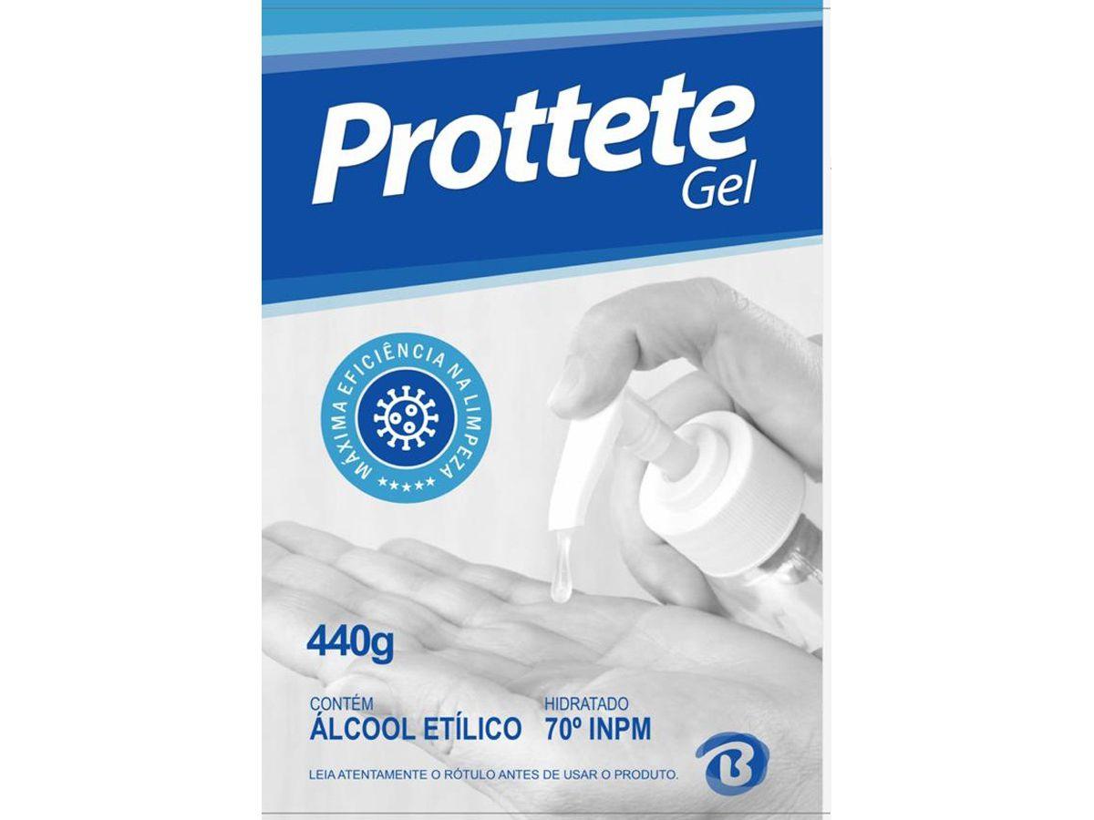 Álcool em Gel 70% 440g - Prottete