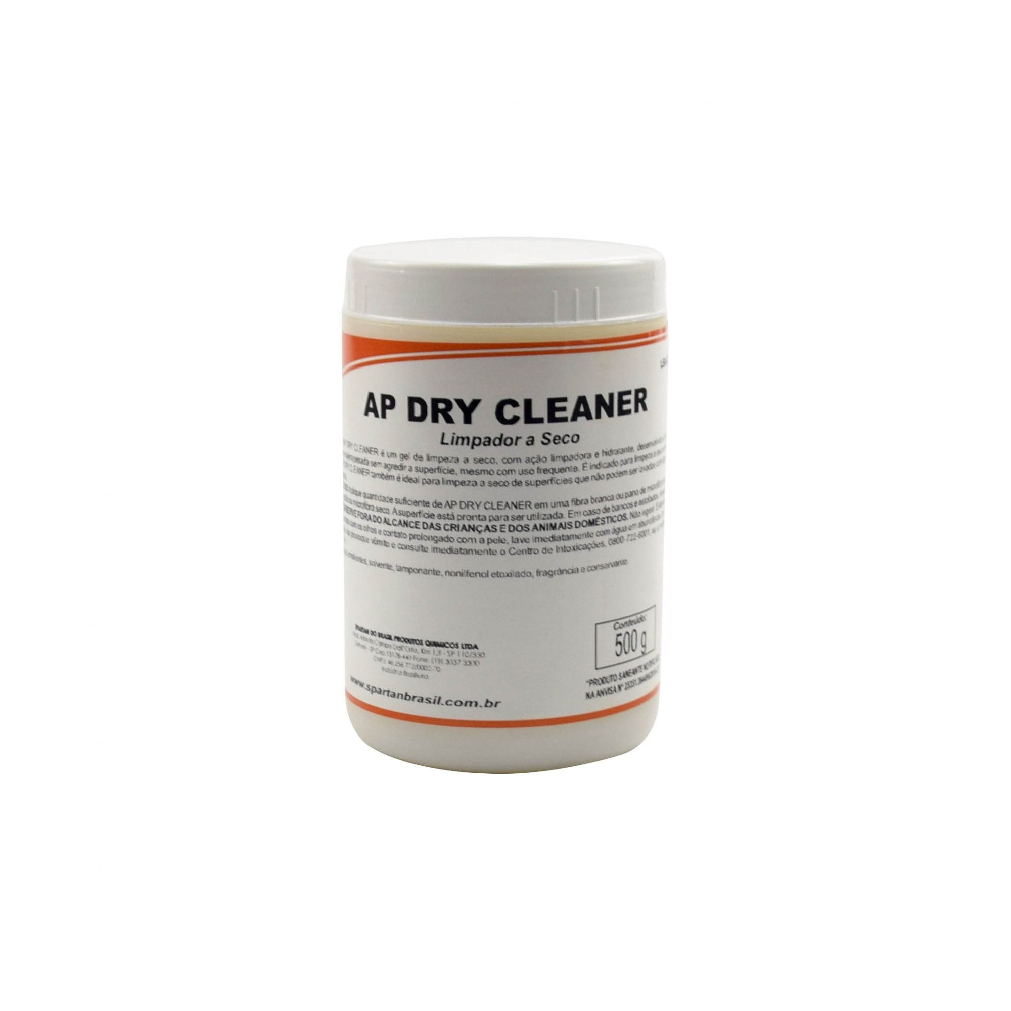 Gel Limpador de Couro a Seco Ap Dry Cleaner 500g - Spartan  - COLAR
