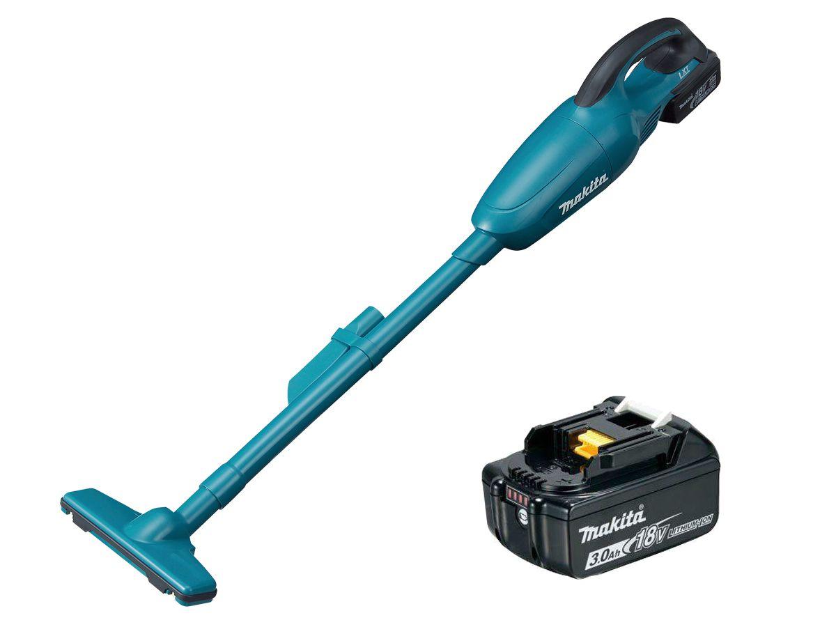 Kit Ferramentas Makita: Aspirador de Pó DCL180Z-P + Bateria 3.0 Ah 18v