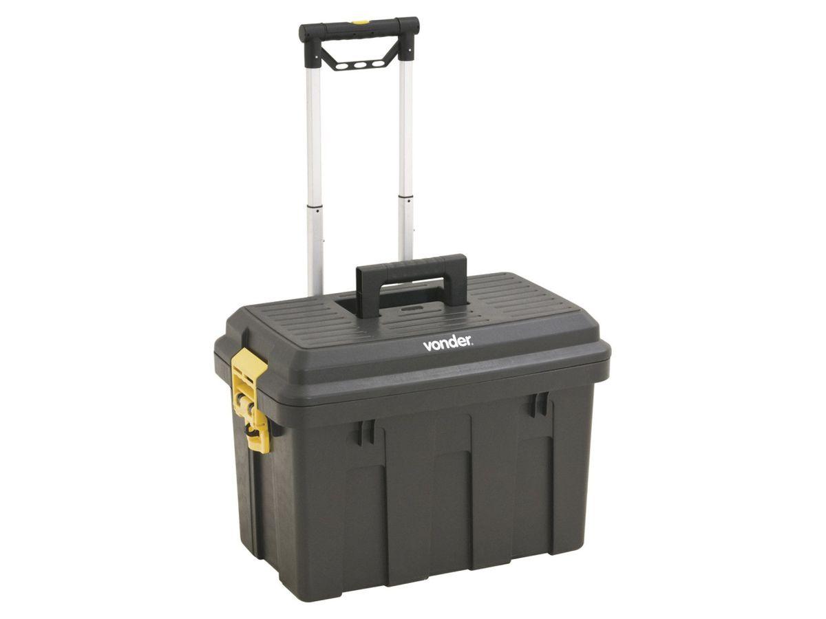 Caixa Plástica Organizadora de Ferramentas Com Roda CRV 0200 - Vonder  - COLAR