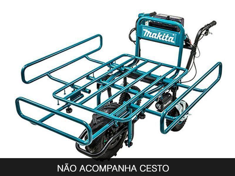 CARRINHO DE MÃO A BATERIA 18V MAKITA DCU180Z  - COLAR