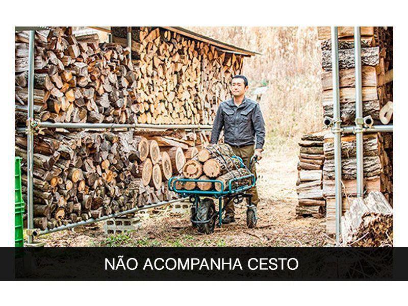 CARRINHO DE MÃO A BATERIA 18V MAKITA DCU180Z