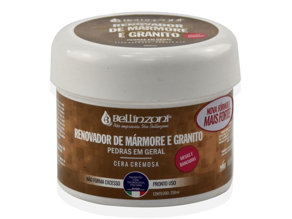 Cera em Pasta Renovador de Mármore e Granito Cremoso 250 ml - Bellinzoni ♥ Home Care  - COLAR