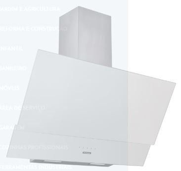 Coifa de Parede Vidro Branco Juliet 90 - Tramontina 94835  - COLAR