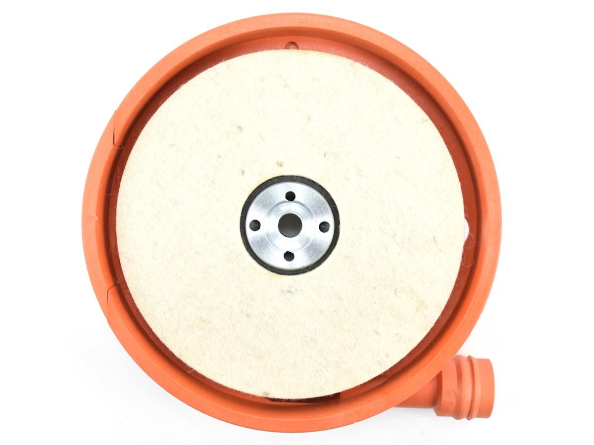 Coletor de Pó Para Lixadeira 180mm Com Suporte e Flange Modelo Bosch  - COLAR