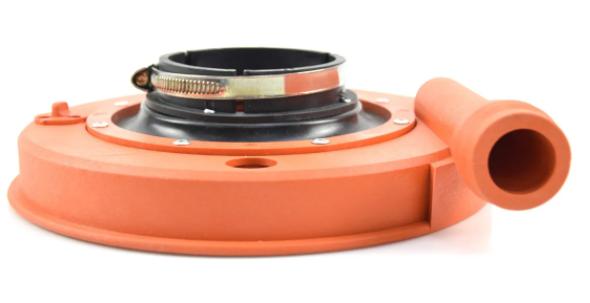 Coletor de Pó Para Lixadeira 180mm Sem Suporte e Flange Modelo Bosch