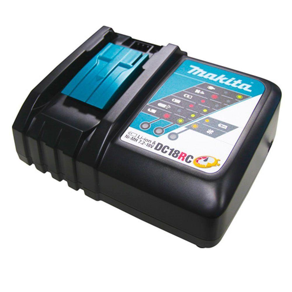 Parafusadeira Furadeira de Impacto á Bateria 18V 3.0Ah DLX2145X2 - Makita  - COLAR