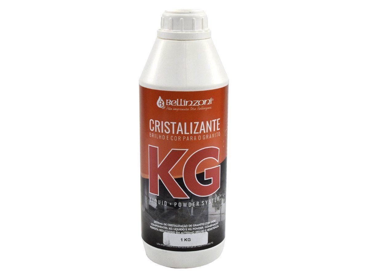 KG - Cristalizante Bellinzoni (Brilho e cor para o Granito) - KG LIQUID 1KG  - COLAR