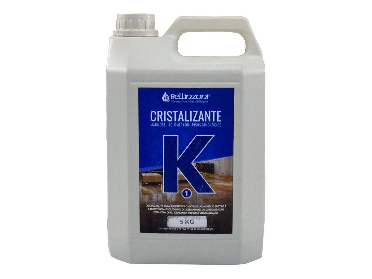 K 1 -  Cristalizante Bellinzoni Para Mármores, Aglomerados e Pisos Cimentícios - 5 Kg  - COLAR