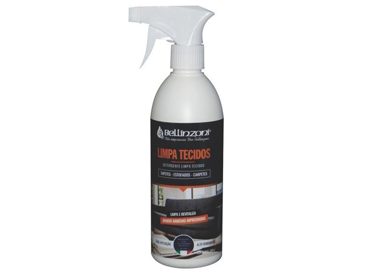 Detergente Limpa Tecidos, Tapetes, Estofados e Carpetes 500ml - Bellinzoni  - COLAR