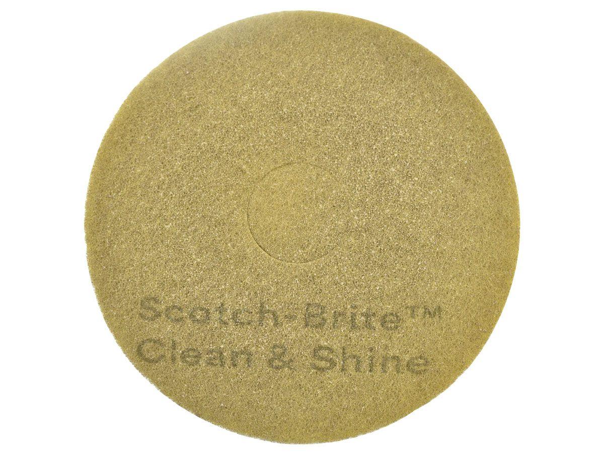Disco 2 em 1 Limpa e da Brilho Clean & Shine - 3M  - COLAR