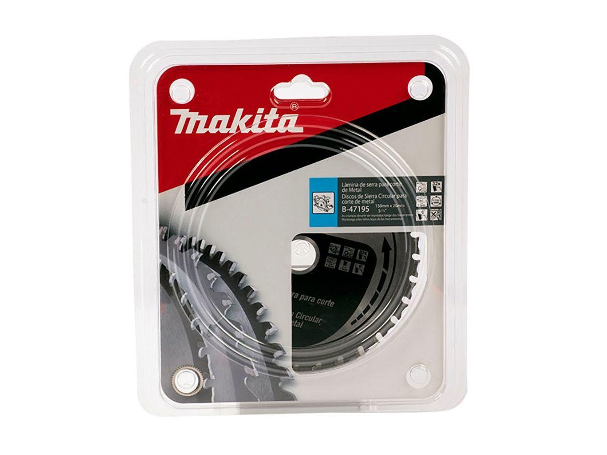 Disco de Serra para Cortadora de Metais a Bateria 150mm - B-47195 - Makita   - COLAR