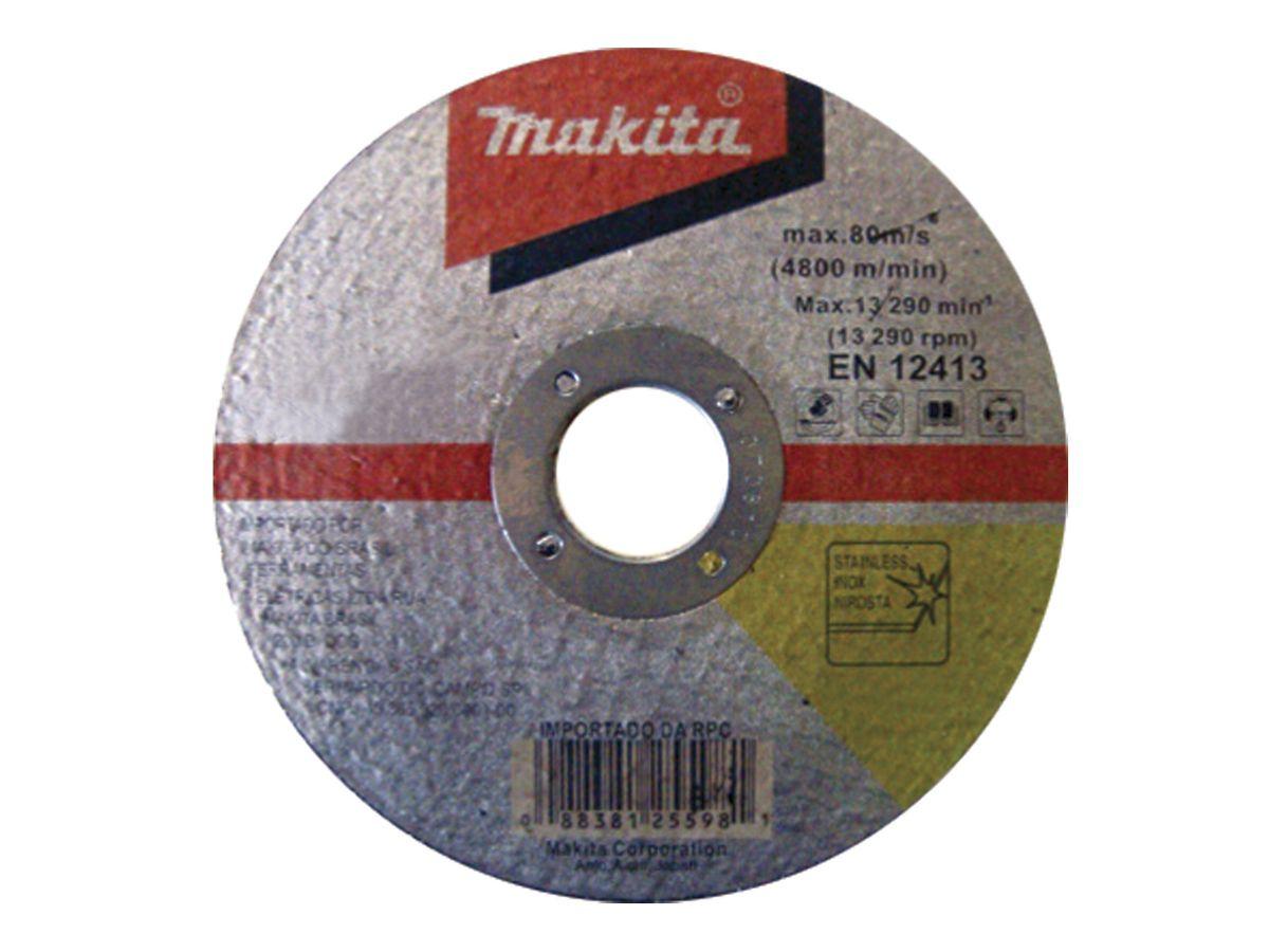 Disco de Corte para Inox D-20030 Makita - 10 unidades