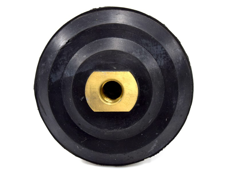 Disco De Desbaste M14 Super Turbo Com Borracha 100mm Espiral   - COLAR