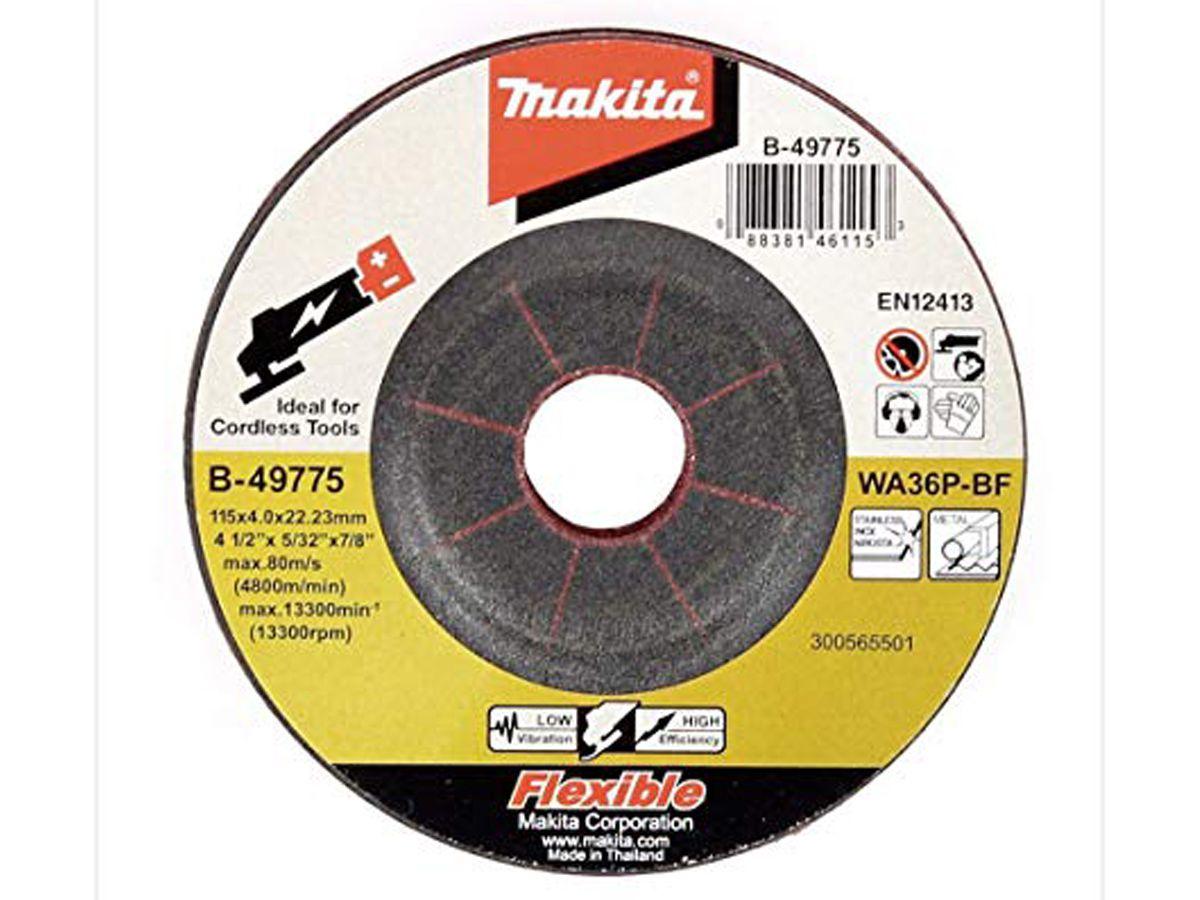 Disco de Desbaste para Inox e Matal Makita B-49775   - COLAR