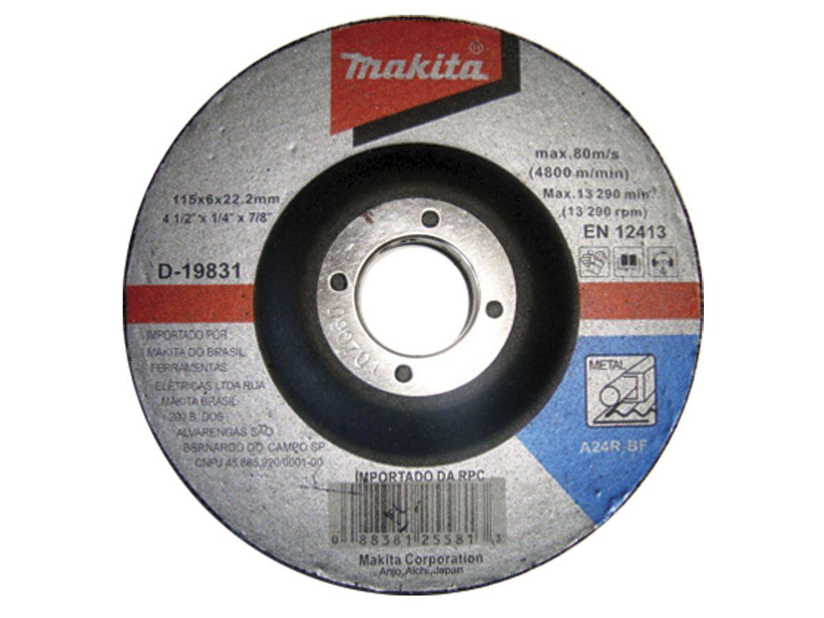 Disco de Desbaste para Metal D-19831 - Makita  - COLAR